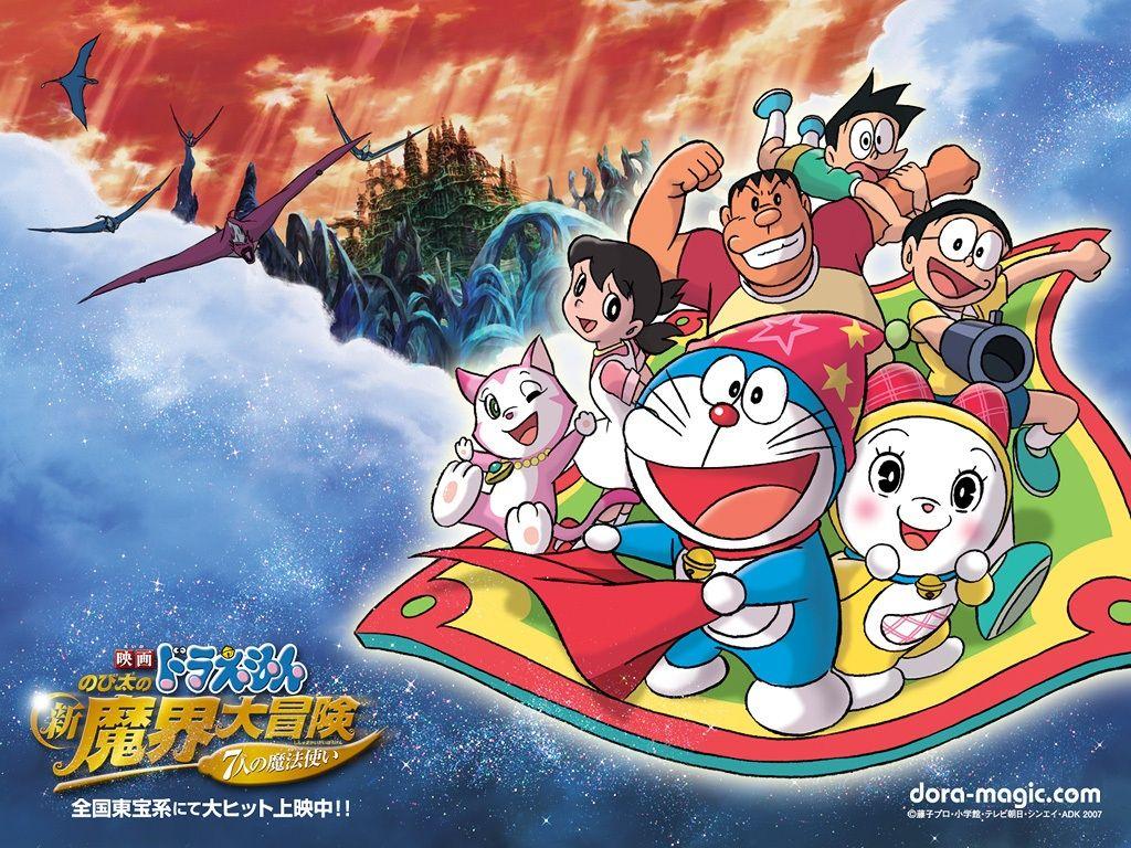 Animasi Bergerak Doraemon Untuk Wallpaper Top Anime