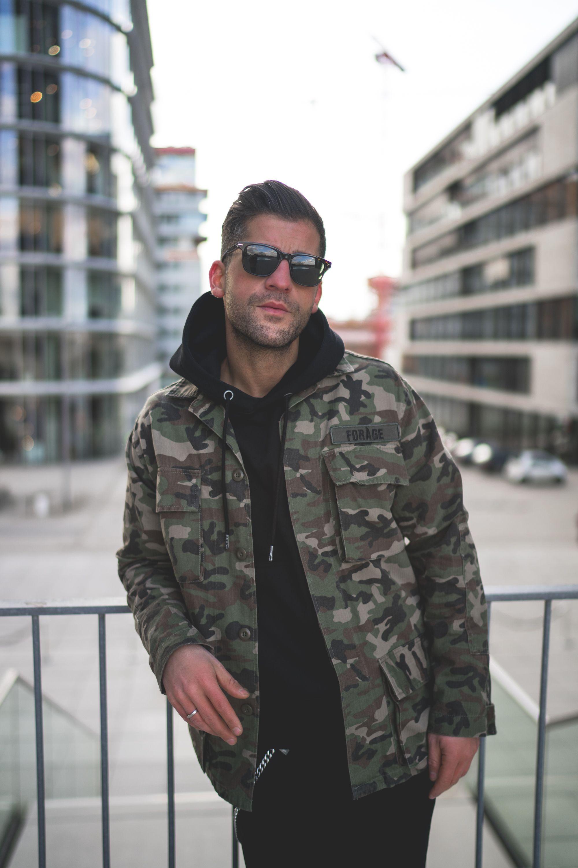 ARMY JACKET CAMOUFLAGE | Modefotografie, Modestil