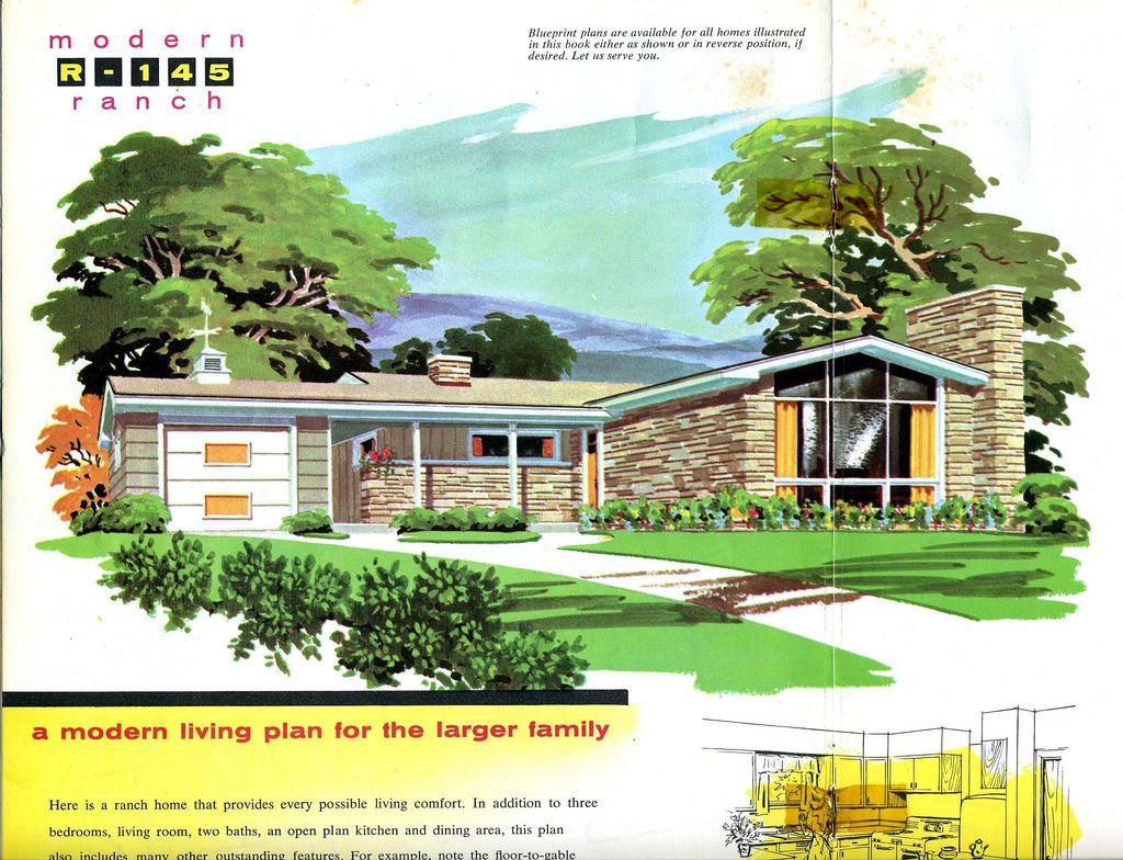 img132 | Modern ranch, Mid century modern house, Modern ...
