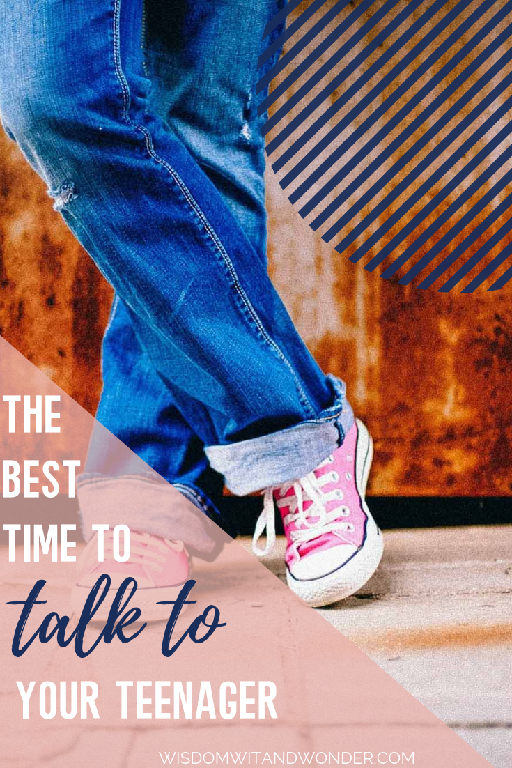 The Best Way To Fight With Teenager >> The Best Time To Talk To Your Teenager Mom Life