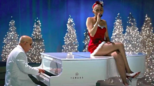 miley cyrus sings silent night for a very murray christmas - Miley Cyrus Christmas