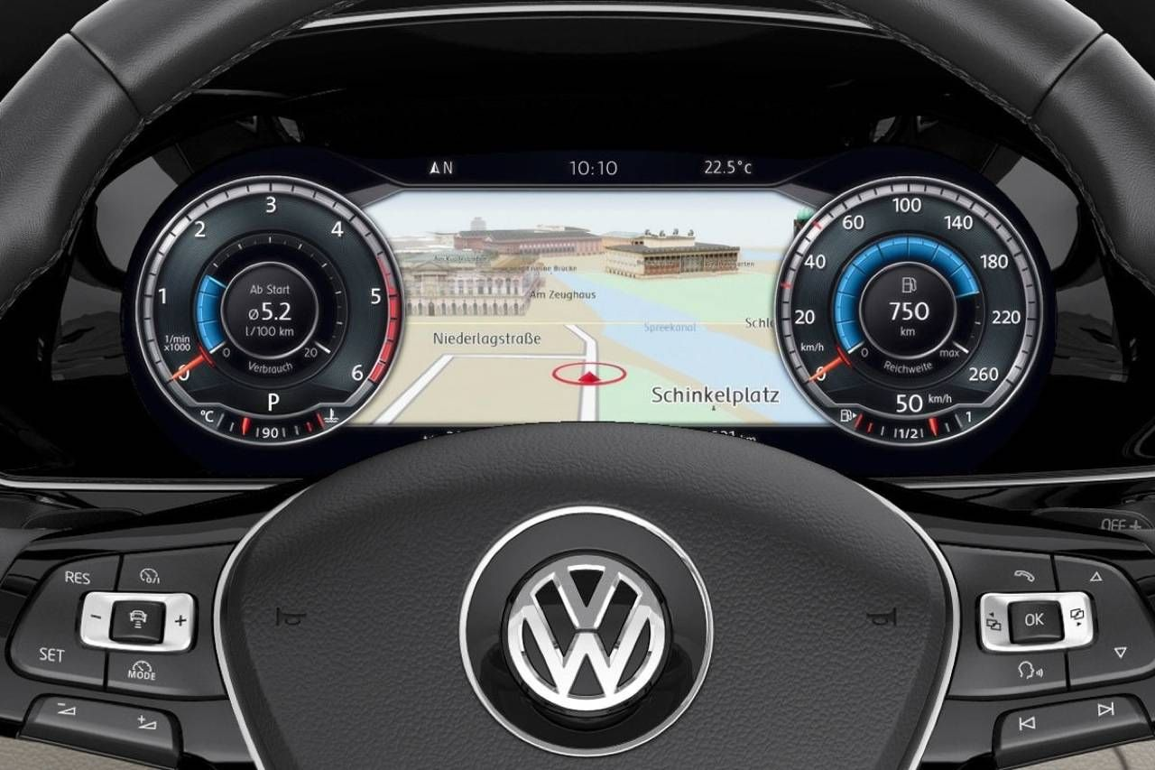 Volkswagen Passat (B8) - Active Info Display | Car dashes
