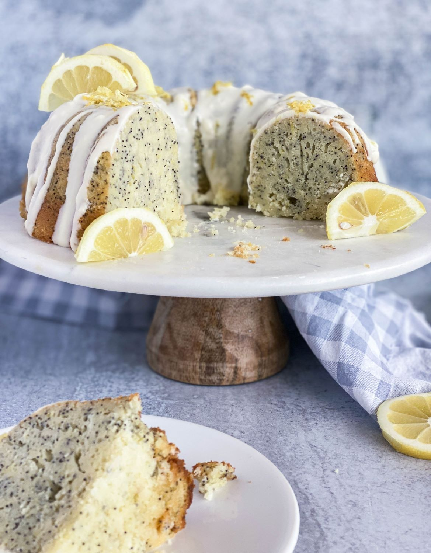 Lemon Poppy Seed Cake - Stephanies Sweet Treats