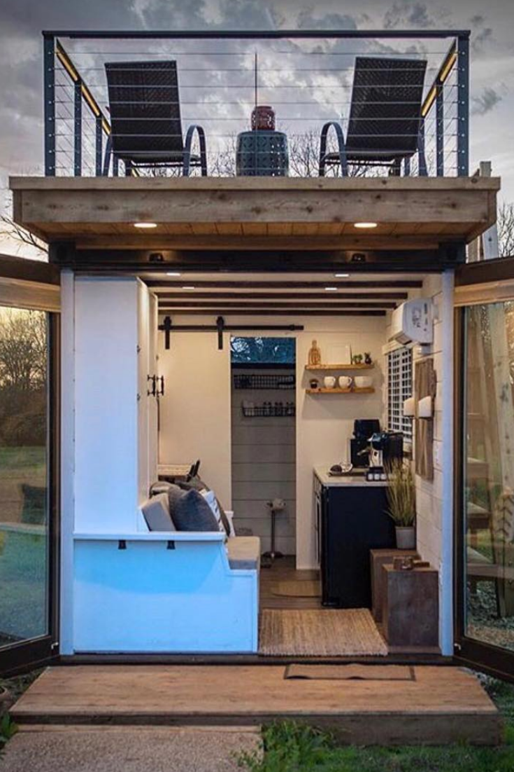 45 Genius Ideas For Your Tiny House Project House Topics House Tiny House Cabin Tiny House