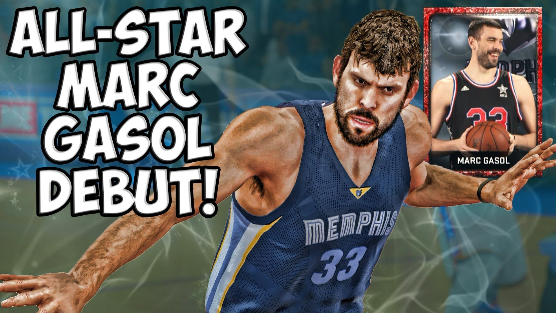 ccbb948c3721 NBA 2K15 MyTeam Gameplay - All-Star Marc Gasol vs Craziest Lineup Ever!