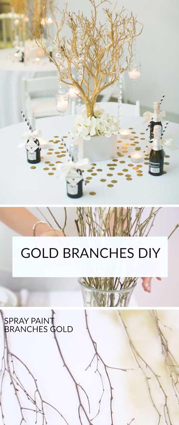 20+ DIY Wedding Decorations on a Budget | Diy wedding decorations ...