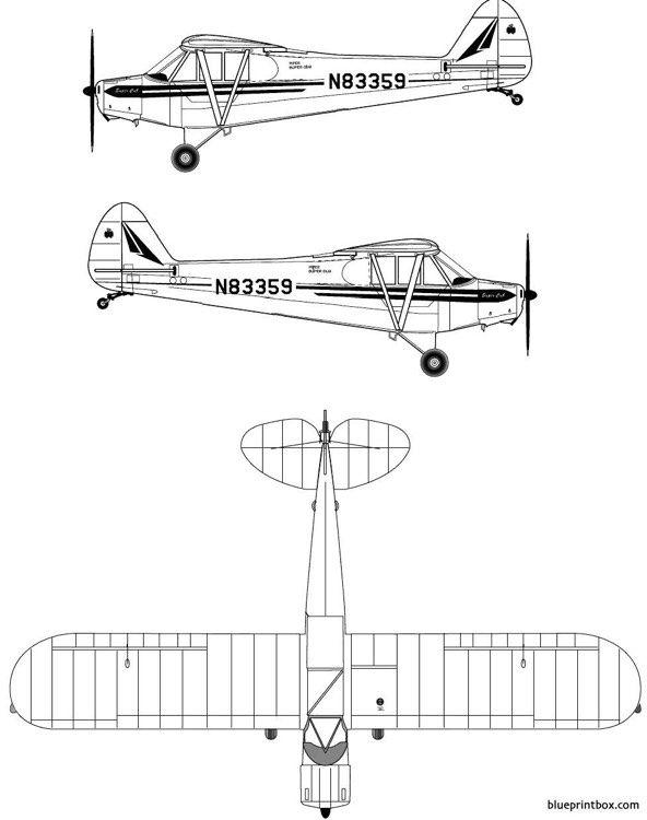By Photo Congress || Piper Super Cub Model Plans