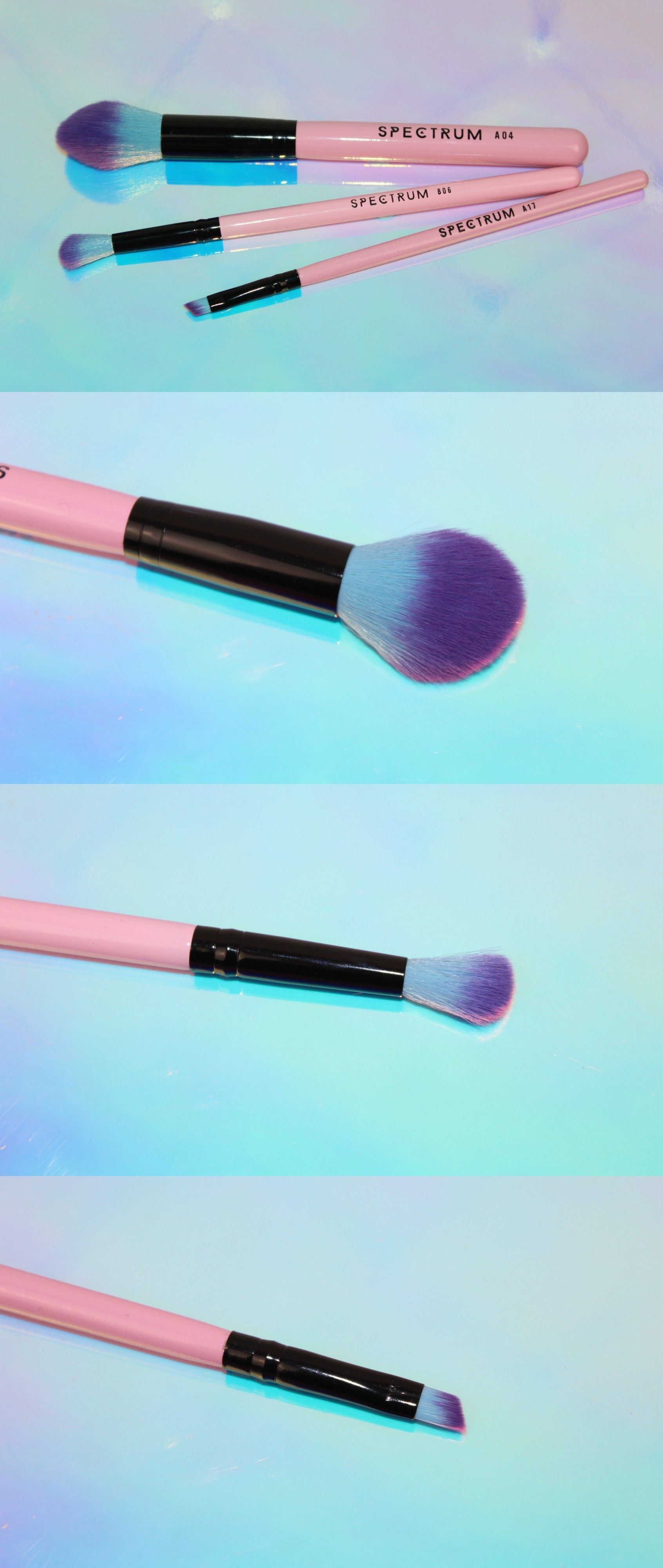Spectrum Collections Pink Brushes Review and Photos (With
