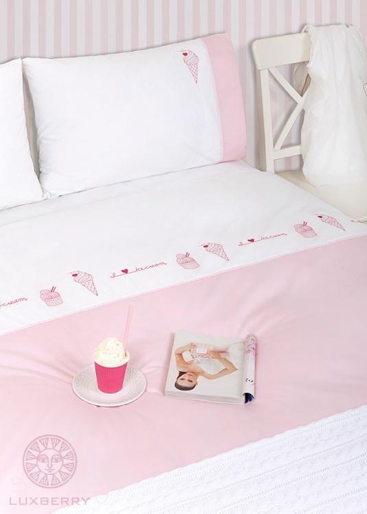 Детское постельное белье ICECREAM 150х210 от производителя Luxberry (Португалия)