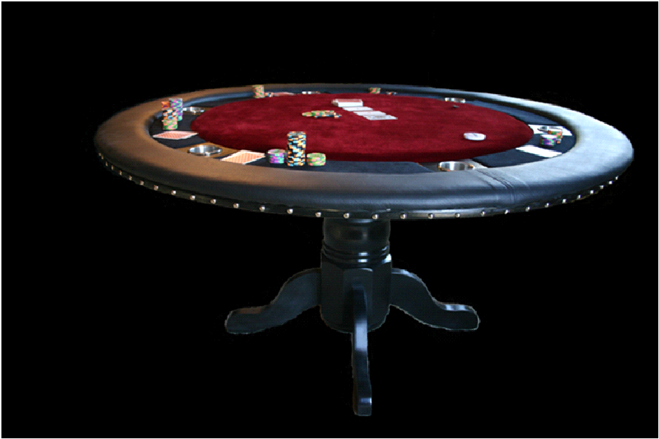 Poker Table Or Pool Table That S A Hard Debate Poker Table Poker Old Kitchen Tables