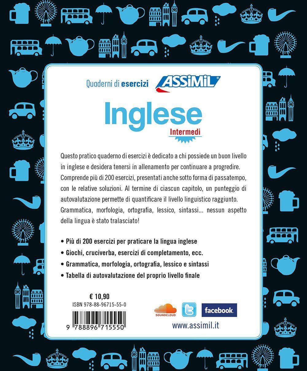 Inglese Quaderno Di Esercizi Intermediario Ediz Bilingue Di
