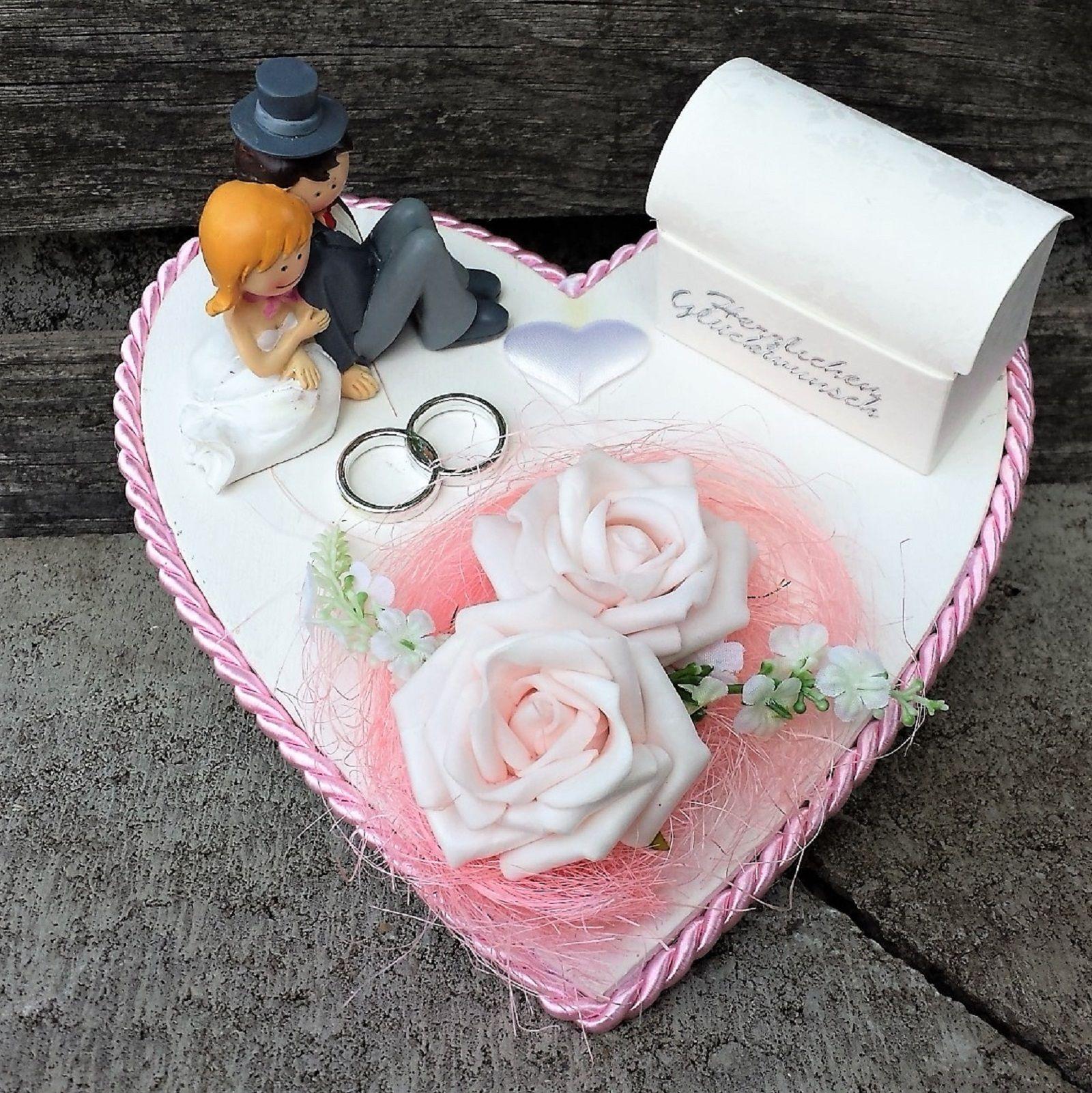 Geldgeschenk romantisch rosa mit Rosen   Geldgeschenke