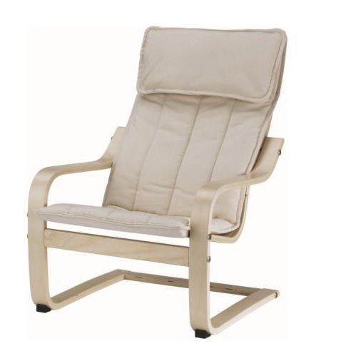 Awesome IKEA   POÄNG, Childrenu0027s Armchair, Birch Veneer/Almås Natural , Easy To  Keep Clean Since The Cover Can Be Machine Washed.Matches POÄNG Armchair In  Adult ...