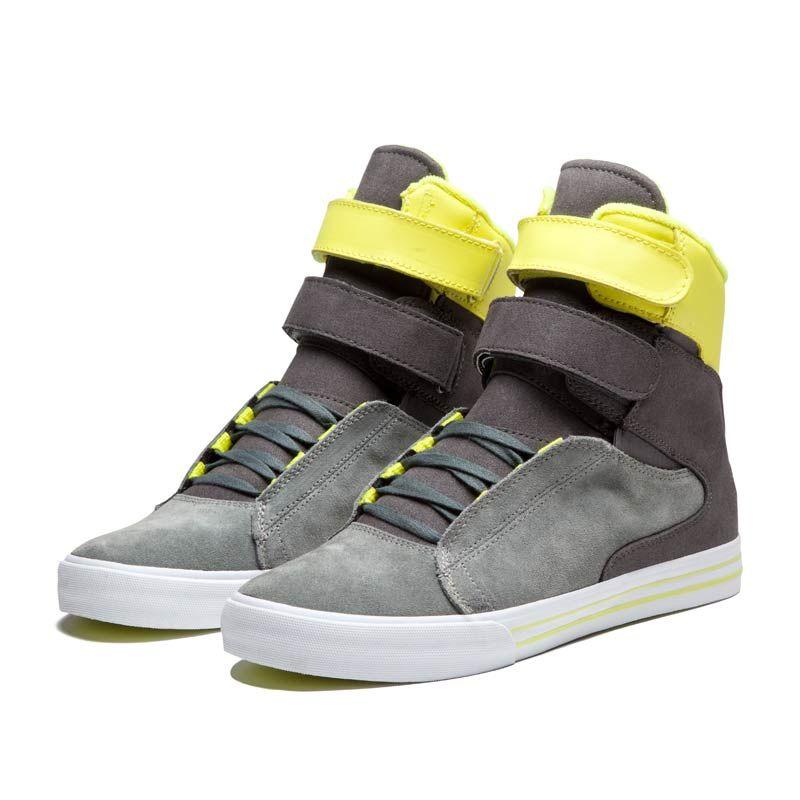 supra tk society neon yellow