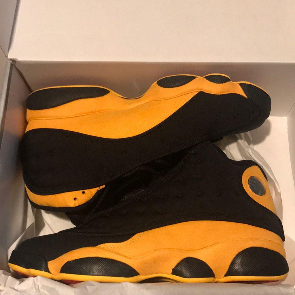 brand new a348d 29236 Jordan Shoes   Air Jordan Retro 13   Color: Black/Yellow ...
