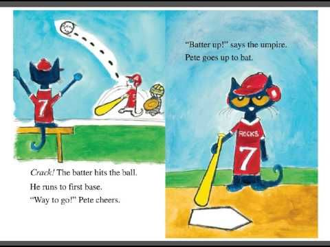 Pete The Cat Playball Read Aloud Book Pete The Cat Read Aloud Books Read Aloud