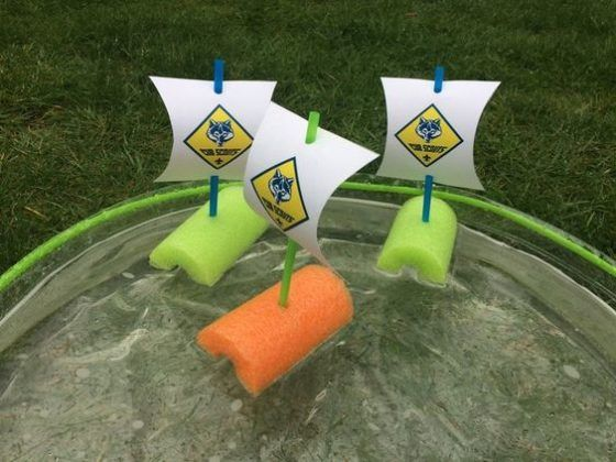 Fun Activities and Crafts for Your Cub Scouts | Voice of Scouting  Motor Away Boats for Day Camp? #cubscouts