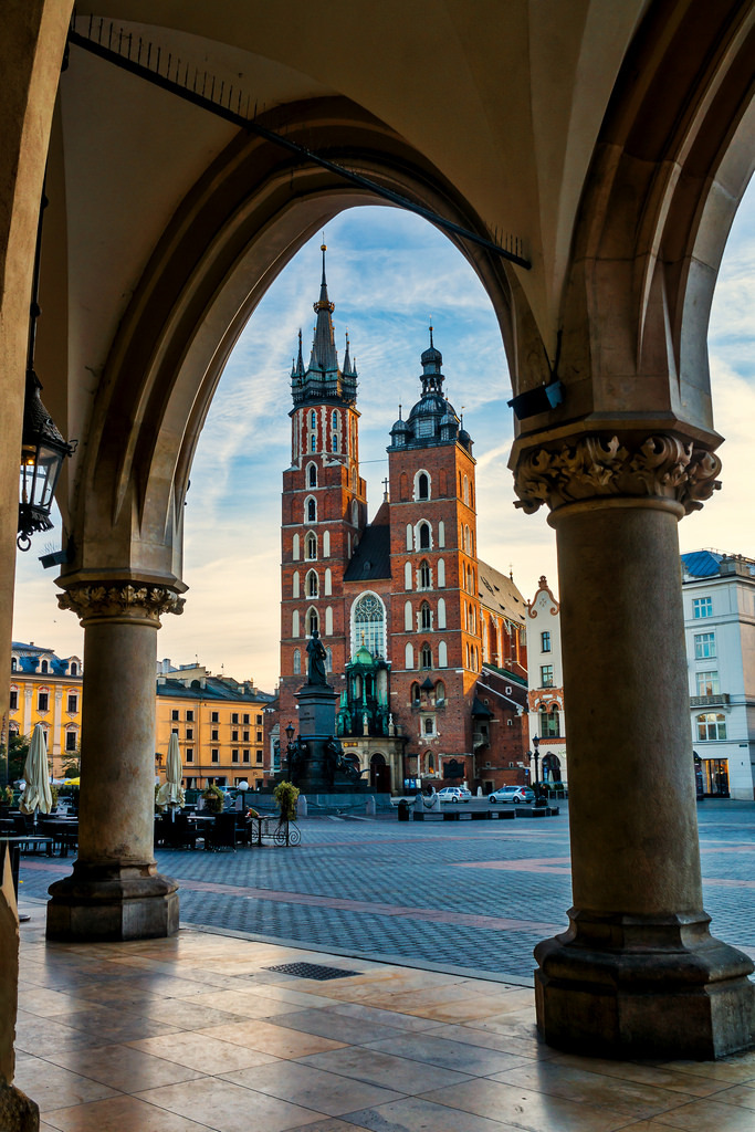 Krakow, Poland (by Janos Kertesz)