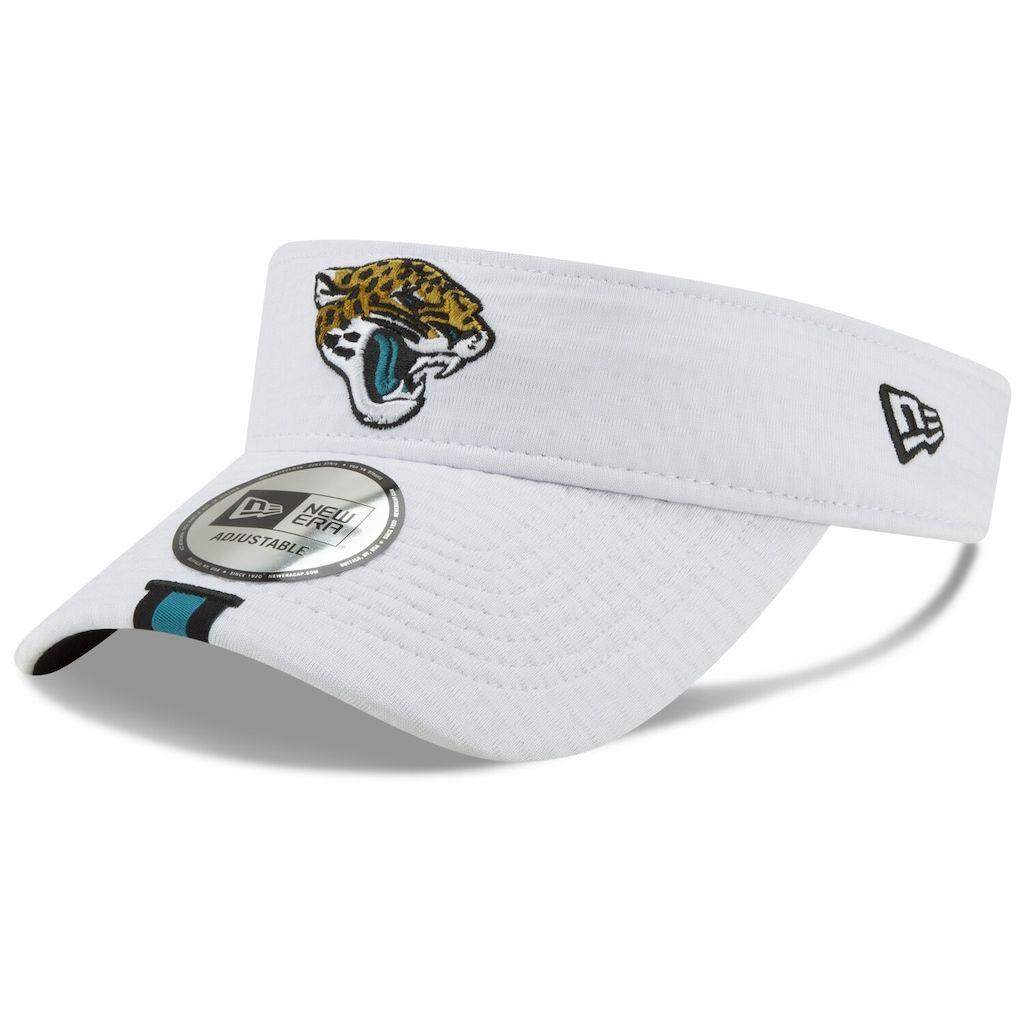 high fashion uk store stable quality Men's New Era White Jacksonville Jaguars 2019 NFL Training Camp ...