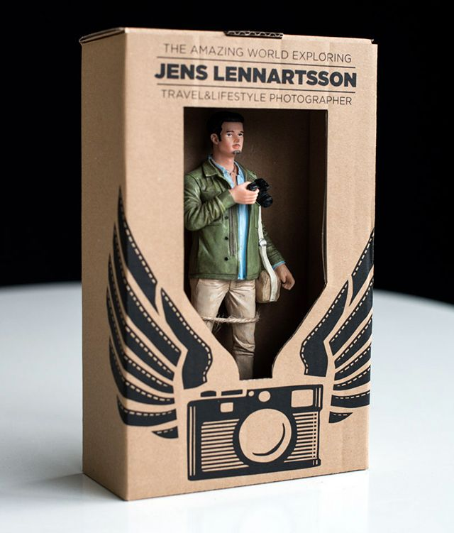 photographer makes 400 action figures of himself for a clever self