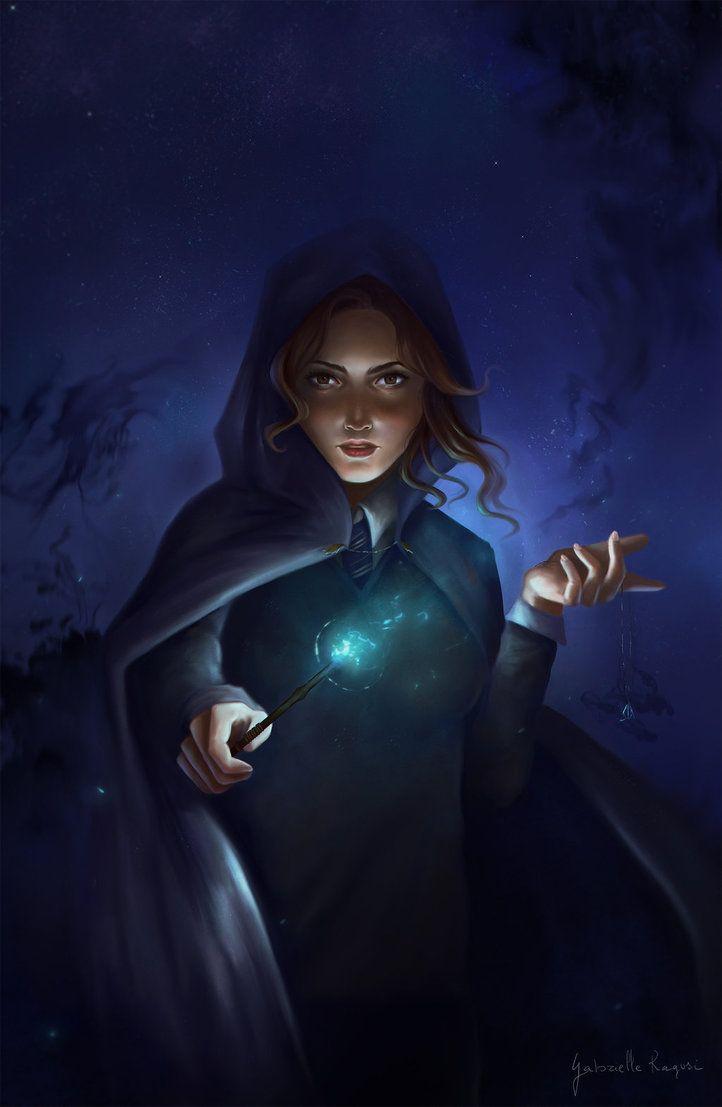 Hermione And The Dark Games By Gabrielleragusi Deviantart Com On Deviantart Harry Potter Fan Art Harry Potter Art Hermione Granger Fanart