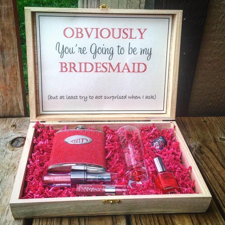 Bridesmaid Gift Boxes! What A Fabulous Gift For A Maid Of