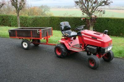 garden tractor trailer google search - Garden Tractor Trailer