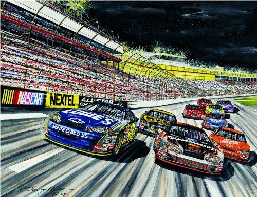 Nascar Martinsville Virginia Motorsports Museum And Hall Of Fame Hosts Saturday Showing Of Artist Garry Hill S Work Nascar Crash Nascar Motorsport Art
