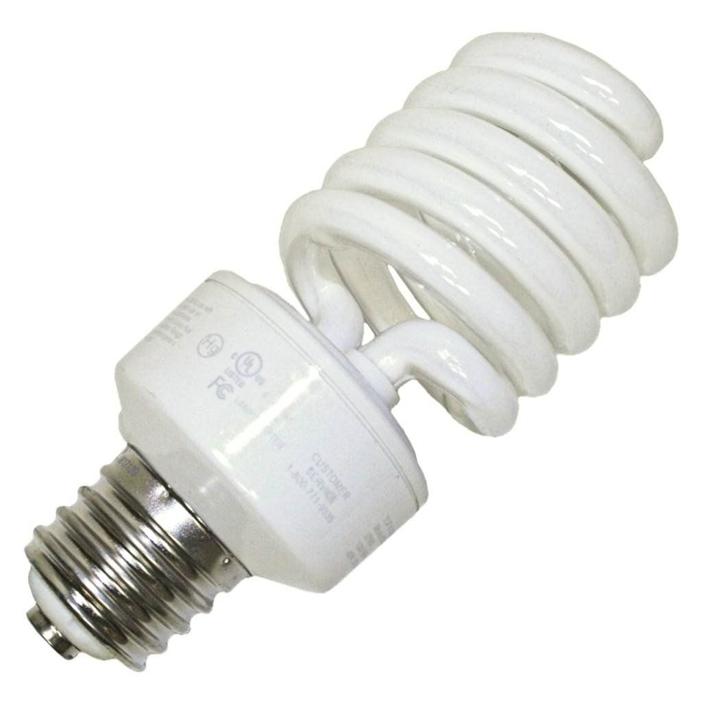 Tcp Cfl Spring Lamp 150w Equivalent Daylight White 5100k Mogul Base Spiral Light Bulb Take A Look At This T Compact Fluorescent Bulbs Light Bulb Spring Lamp