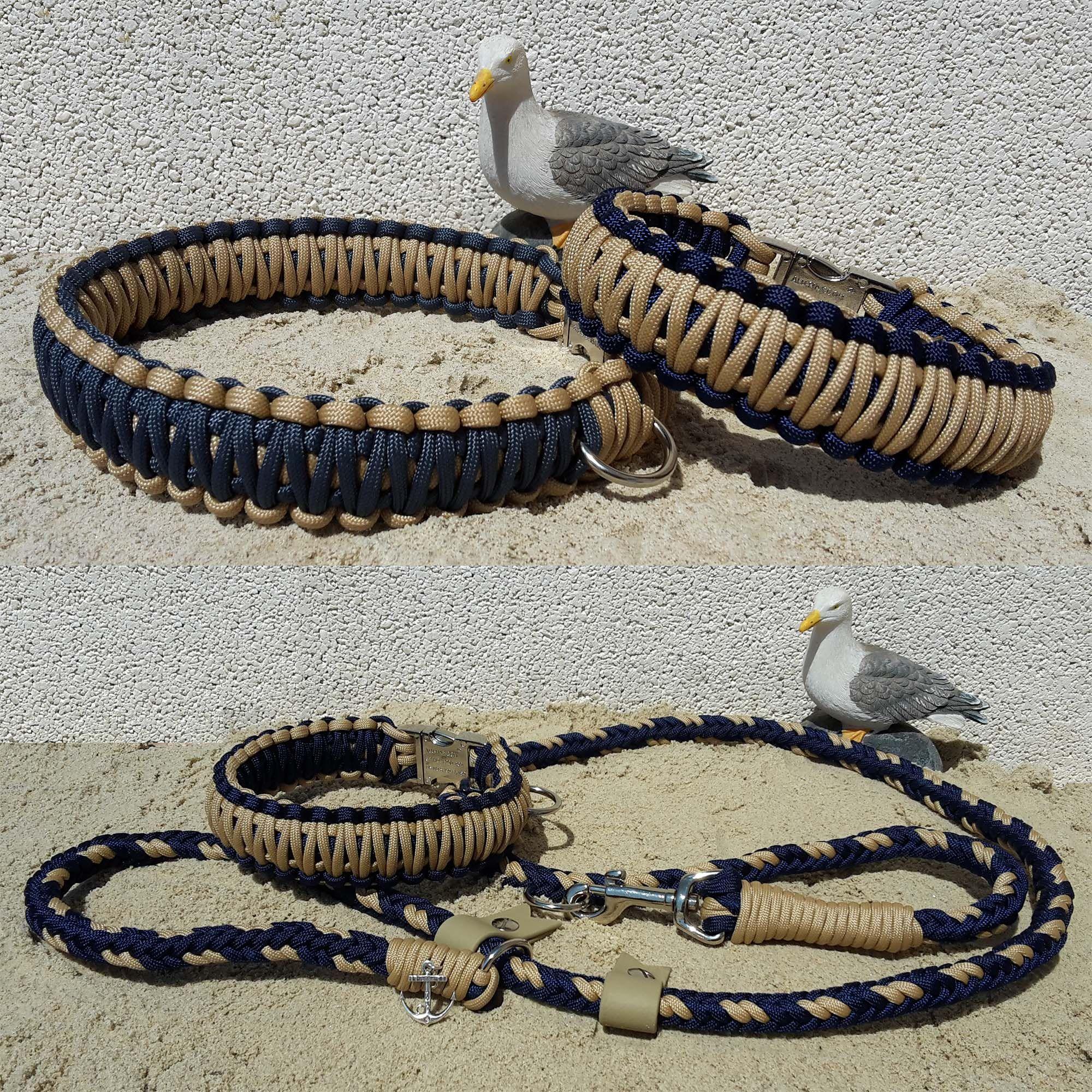 Swiss Paracord Dog Collar