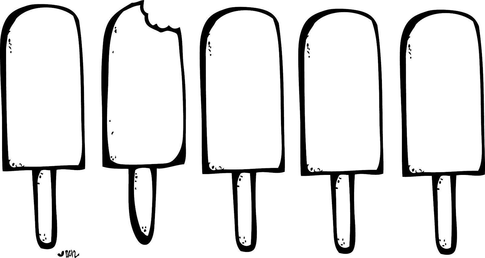 Ice Cream Clipart Black And White Clipart Black And White Melonheadz Spring Sign