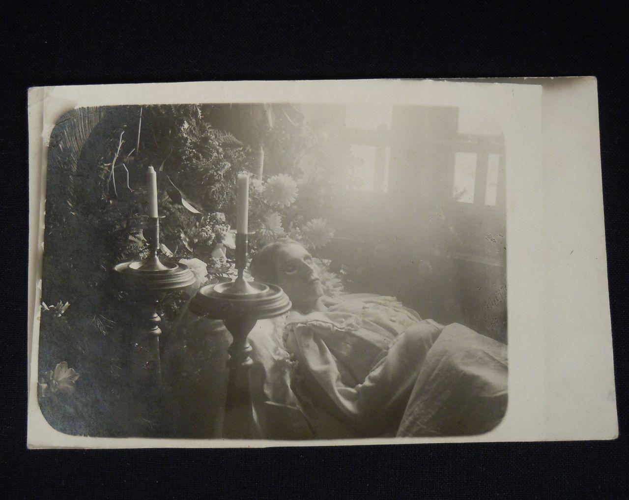 woman on deadbed