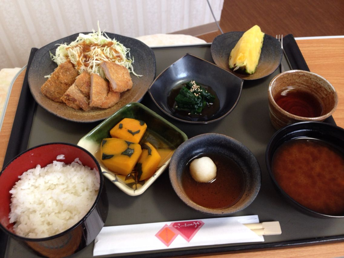 2016.08.25 induction of the labor pains-day 1st lunch
