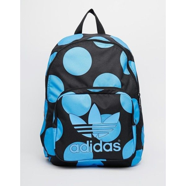 adidas Originals x Pharrell Williams Backpack in Blue Spot (71 CAD) ❤ liked  on Polyvore 26b367e677