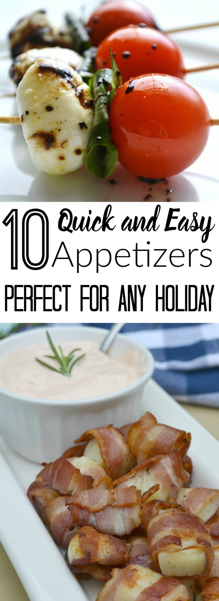 10 Quick and Easy Appetizers Perfect for any Holiday images