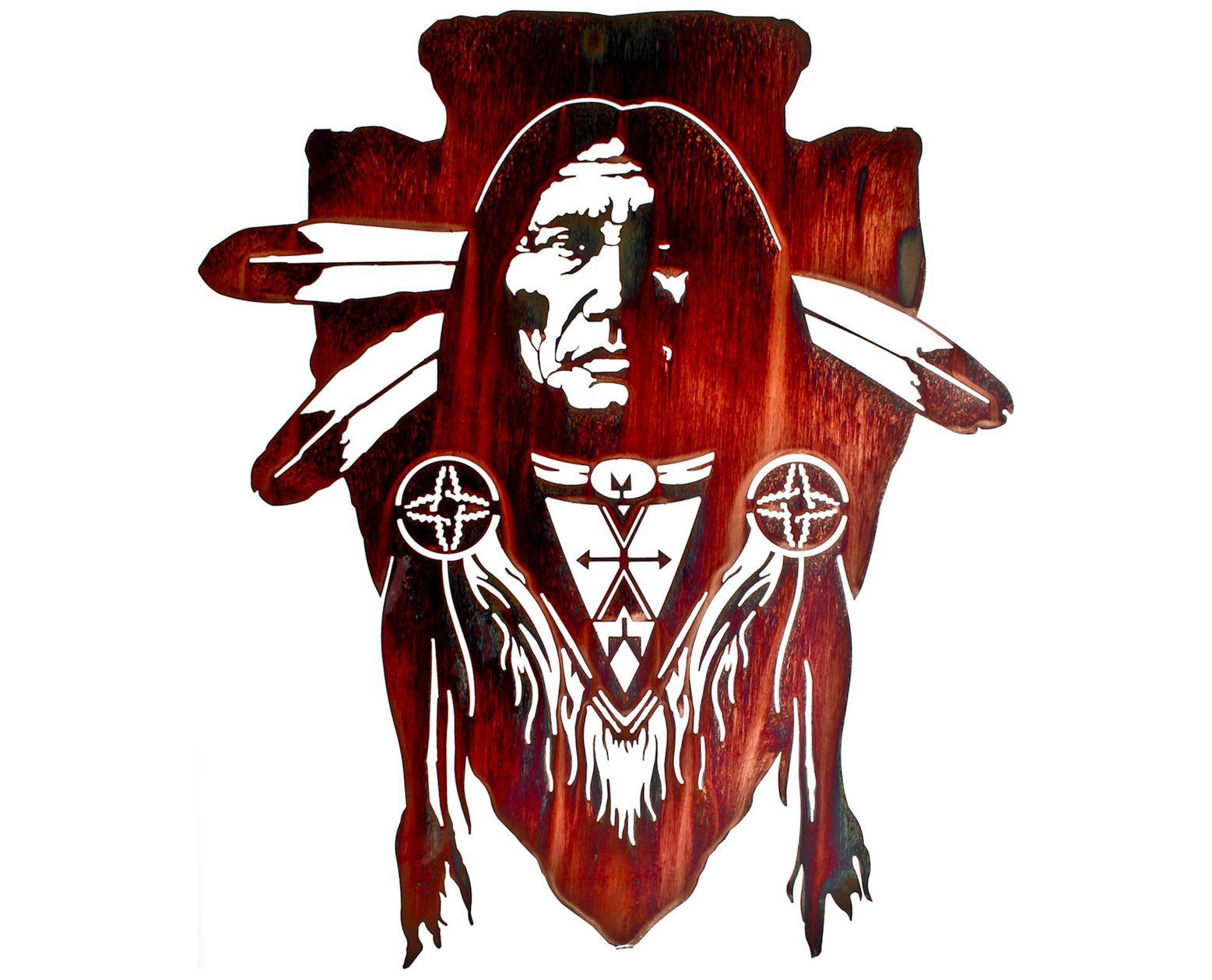native american brave wall art design pinterest. Black Bedroom Furniture Sets. Home Design Ideas