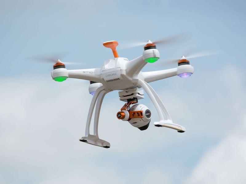 Chroma W 4k C Go3 St 10 Drone Rtf Blade
