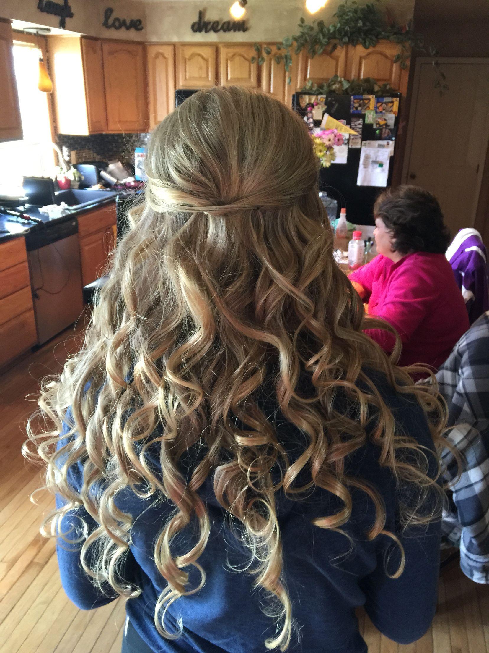 Prom Hair Ideas - Half Up, Half Down | Hair styles, Simple ...