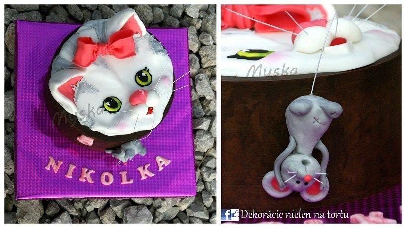 miau  - Cake by Myska