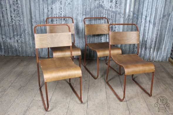 New To Our Range Of Vintage Inspired Seating, Is This Industrial Style  Dining Chair.