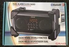Craig CMA3542 Bluetooth Radio Reloj Alarma Dual con transmisión inalámbrico de…
