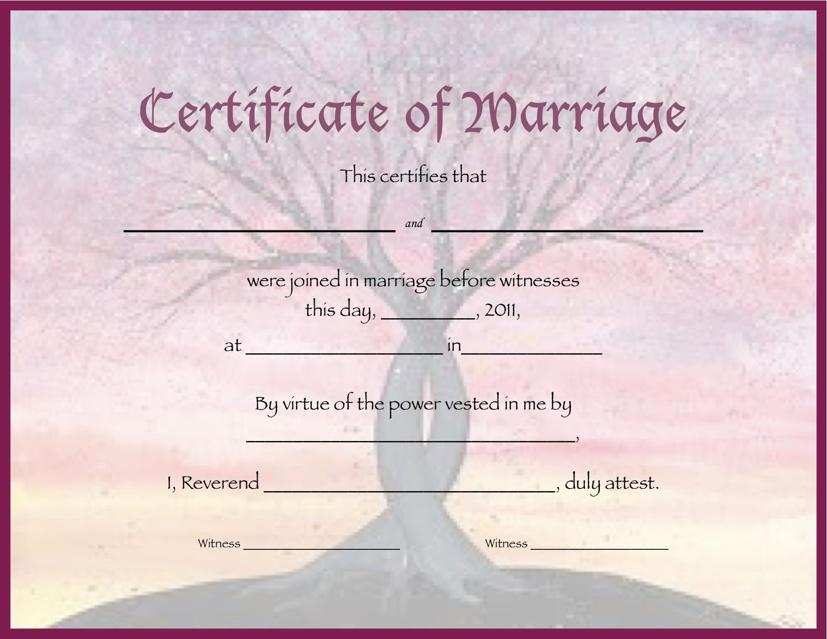 Printable marriage certificates intwined marriage certificate printable marriage certificates intwined marriage certificate alramifo Image collections