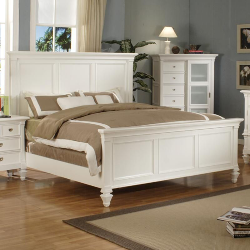 Superbe Summer Breeze King Panel Bed By Holland House