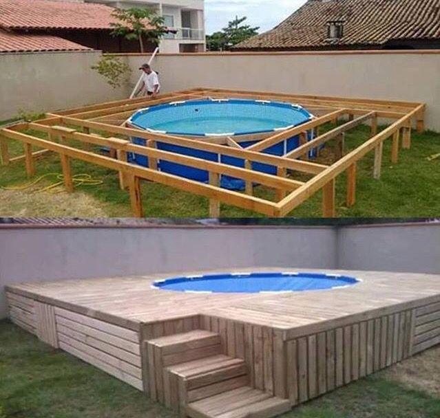 piscina barata jardines y piscinas pinterest