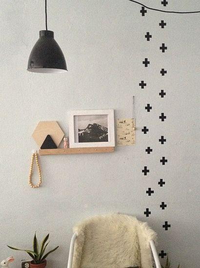 washi tape wall #UOContest #UOonCampus | Bedroom | Pinterest | Washi ...