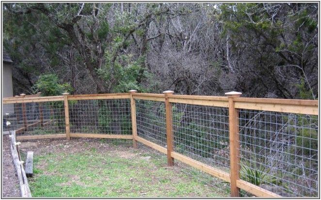 Cattle Panel Fence Wood Fence Cattl