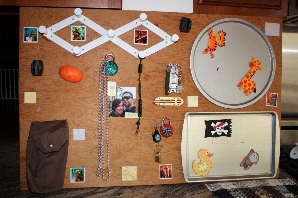 Busy Boards On Pinterest Sensory Boards Activity Board