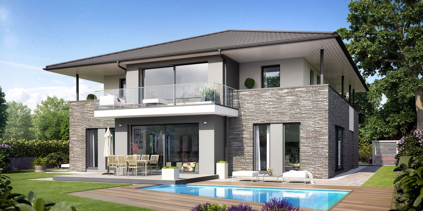 Moderne häuser zeltdach  ARCUS WD.500.2 - Heinz von Heiden | Bauen - Häuser - Grundrisse ...
