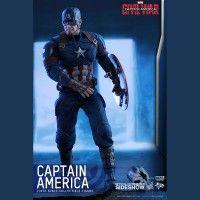 Captain America Civil War Captain America Sixth-Scale Figure 3