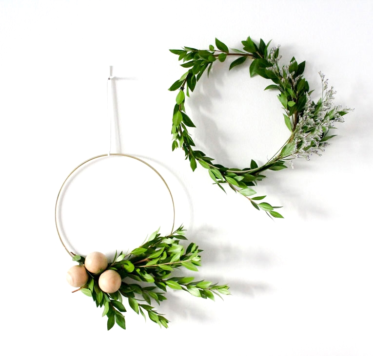 Most Stunning Nordic Christmas Wreaths - Christmas Celebration - All about Christmas #bonpourcalendrierdelavent